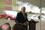 Dr. Ellsworth Kalas Speaking at the Kalas Village Dedication