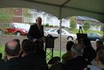 Dr. Ellsworth Kalas Speaking at the Kalas Village Dedication - 2