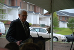 Dr. Ellsworth Kalas Speaking at the Kalas Village Dedication - 3