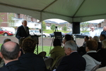 Dr. Ellsworth Kalas Speaking at the Kalas Village Dedication - 5