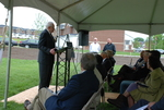Dr. Ellsworth Kalas Speaking at the Kalas Village Dedication - 7