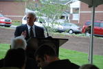 Bill Latimer Speaking at the Kalas Village Dedication