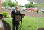 Bill Latimer Speaking at the Kalas Village Dedication - 3