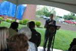 Dr. Tim Tennent Speaking at the Kalas Village Dedication - 7