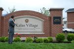 Dr. Tim Tennent Unveiling the Kalas Village Entrance Sign - 3