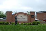 Dr. Tim Tennent Unveiling the Kalas Village Entrance Sign - 5
