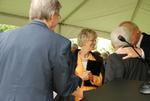 Carol Latimer at the Kalas Village Dedication