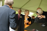 Carol Latimer at the Kalas Village Dedication - 2