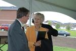 Dr. Tim Tennent and Carol Latimer at the Kalas Village Dedication