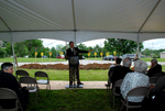 Dan Johnson Speaking at the Gallaway Village Groundbreaking