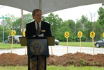 Dan Johnson Speaking at the Gallaway Village Groundbreaking - 4