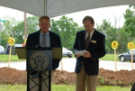 Lanny Spears and Dan Johnson at the Gallaway Village Groundbreaking - 2