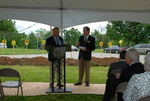 Lanny Spears and Dan Johnson at the Gallaway Village Groundbreaking - 3