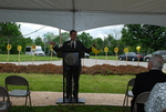 Dr. Tim Tennent Speaking at the Gallaway Village Groundbreaking