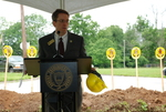 Dr. Tim Tennent Speaking at the Gallaway Village Groundbreaking - 3
