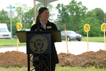 Alice Ward Speaking at the Gallaway Village Groundbreaking