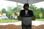 Ranjo Clements Speaking at the Gallaway Village Groundbreaking