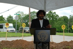 Ranjo Clements Speaking at the Gallaway Village Groundbreaking - 2