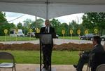 Bill Latimer Speaking at the Gallaway Village Groundbreaking
