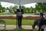 Bill Latimer Speaking at the Gallaway Village Groundbreaking - 2