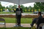 Bill Latimer Speaking at the Gallaway Village Groundbreaking - 3