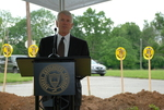Bill Latimer Speaking at the Gallaway Village Groundbreaking - 4