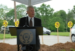 Bill Latimer Speaking at the Gallaway Village Groundbreaking - 5