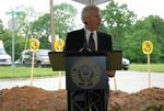 Bill Latimer Speaking at the Gallaway Village Groundbreaking - 6