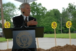 Bill Latimer Speaking at the Gallaway Village Groundbreaking - 9