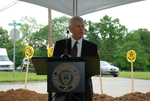 Bill Latimer Speaking at the Gallaway Village Groundbreaking - 10