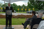 Bill Latimer Speaking at the Gallaway Village Groundbreaking - 11