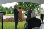 Dr. Tim Tennent Receiving a Gift at the Gallaway Village Dedication - 3