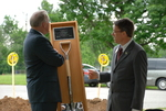 Dr. Tim Tennent Receiving a Gift at the Gallaway Village Dedication - 6