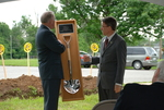Dr. Tim Tennent Receiving a Gift at the Gallaway Village Dedication - 7