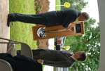 Dr. Tim Tennent Receiving a Gift at the Gallaway Village Dedication - 8