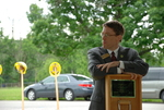Dr. Tim Tennent at the Gallaway Village Dedication - 2