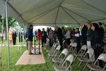 Dan Johnson Speaking at the Gallaway Village Groundbreaking - 6