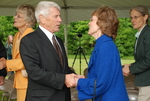 Bill Latimer and Peggy Kirkpatrick at the Gallaway Village Groundbreaking - 2