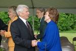 Bill Latimer and Peggy Kirkpatrick at the Gallaway Village Groundbreaking - 3