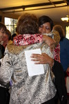 Dr. Geneva Silvernail Hugging a Woman in Orlando Chapel - 2
