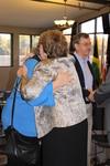 Dr. Geneva Silvernail Hugging a Woman in Orlando Chapel - 4