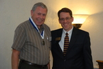 2011 Golden Graduate Paul Johnston with Dr. Tim Tennent