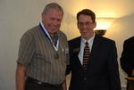 2011 Golden Graduate Paul Johnston with Dr. Tim Tennent - 2