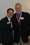Dr. Tim Tennent and 2011 Golden Graduate James Ogan