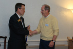 Dr. Tim Tennent and 2011 Golden Graduate Jim Stratton