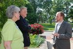 2011 Golden Graduate James and Lois Ogan with Benji Van Fleet