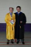 2011 Golden Graduate Jim Stratton and Dr. Steve Stratton