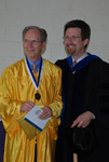 2011 Golden Graduate Jim Stratton and Dr. Steve Stratton - 2