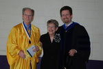 2011 Golden Graduate Jim and Colleen Stratton with Dr. Steve Stratton - 2