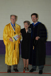 2011 Golden Graduate Jim and Colleen Stratton with Dr. Steve Stratton - 3